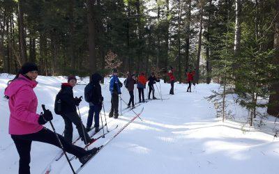 Les élèves du profil du Sport-santé profitent des joies de l'hiver…