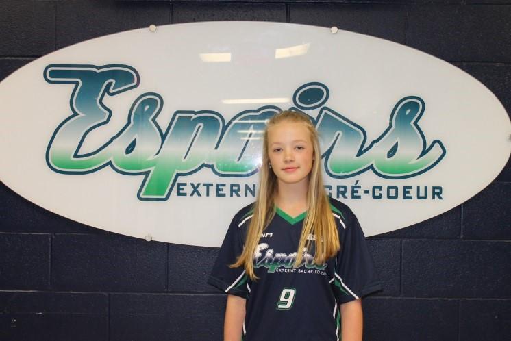 L'athlète par excellence du mois d'avril: Hailey Laurin